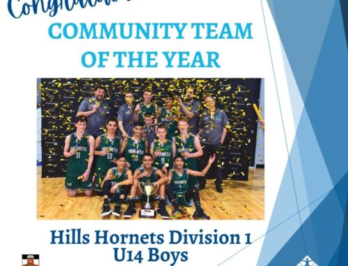 SPORT NSW COMMUNITY TEAM OF THE YEAR